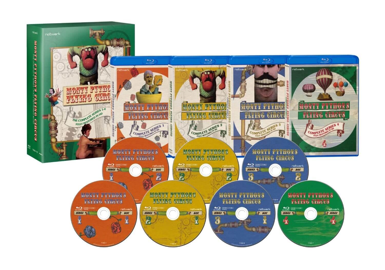 『空飛ぶモンティ・パイソン』Blu-ray BOX