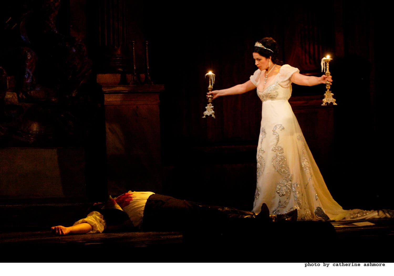 英国ロイヤル・オペラ《トスカ》場面写真