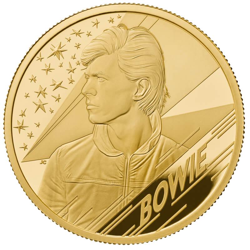 デヴィッド・ボウイ 100ポンド金貨 1オンス