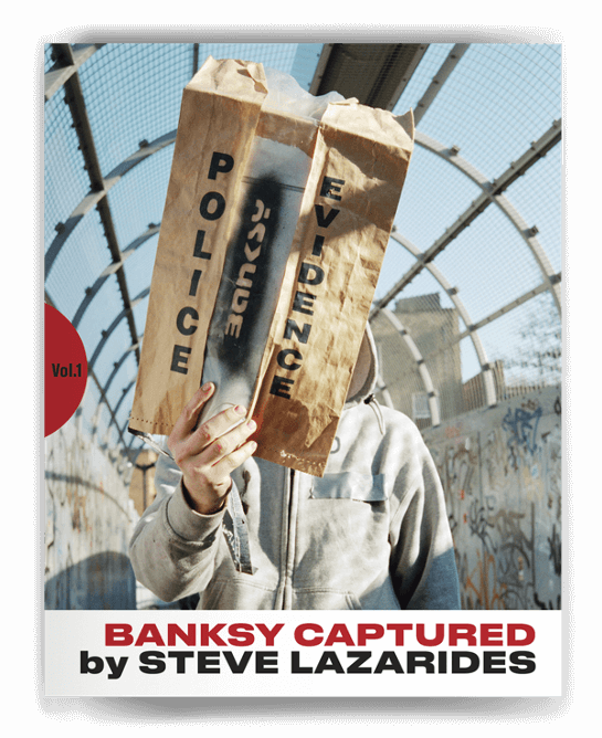 BANKSY CAPTURED Vol.1 2nd edition