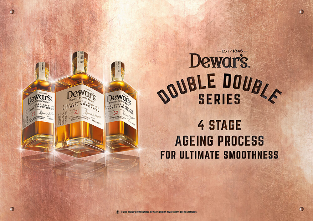 デュワーズ ダブルダブル21年、27年、32年