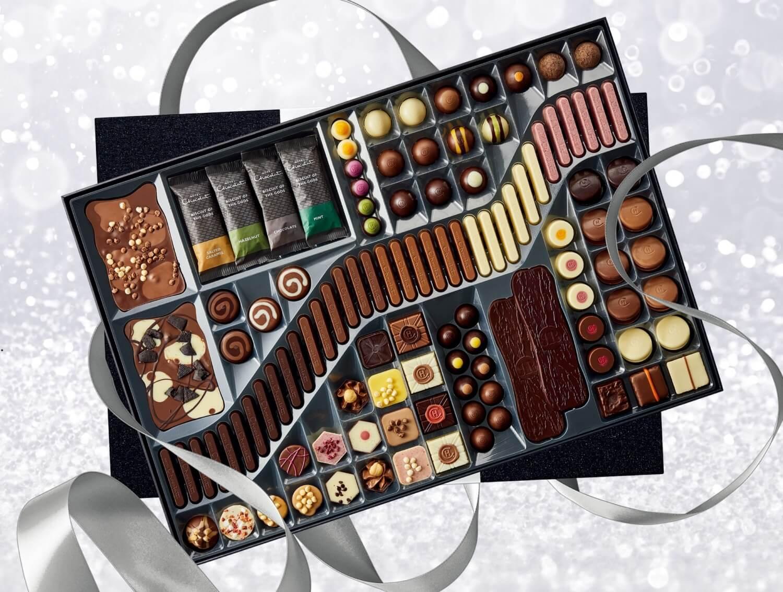 「ホテルショコラ」最上級のラグジュアリーボックス「ラージ ショコラティエズ テーブル」