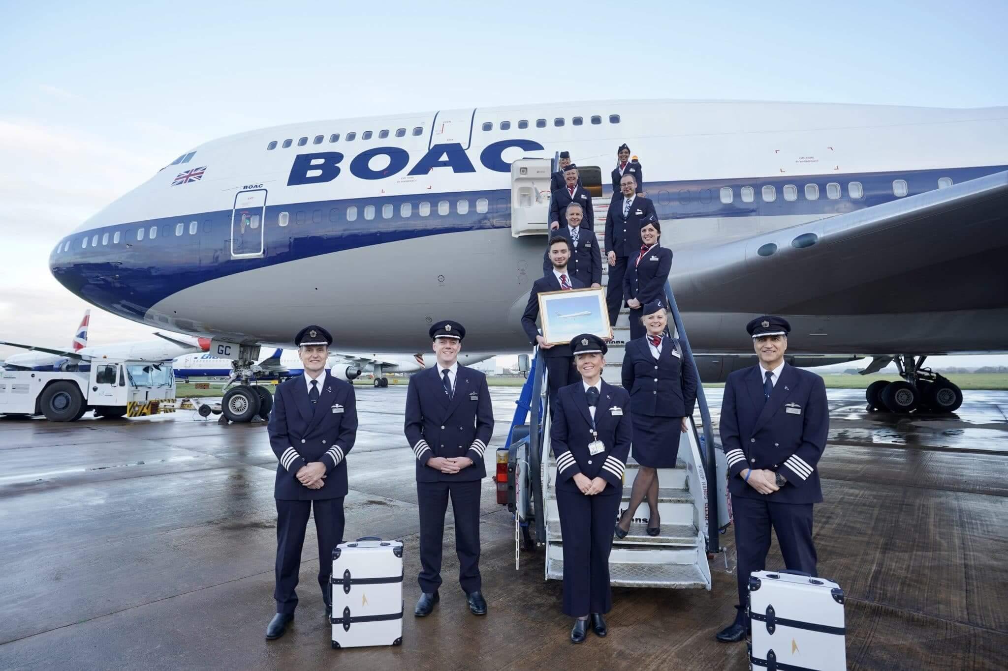 British Airways × Globe-Trotter コラボレーションモデル イメージ画像