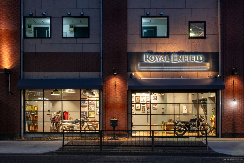 Royal Enfield Tokyo Show Room