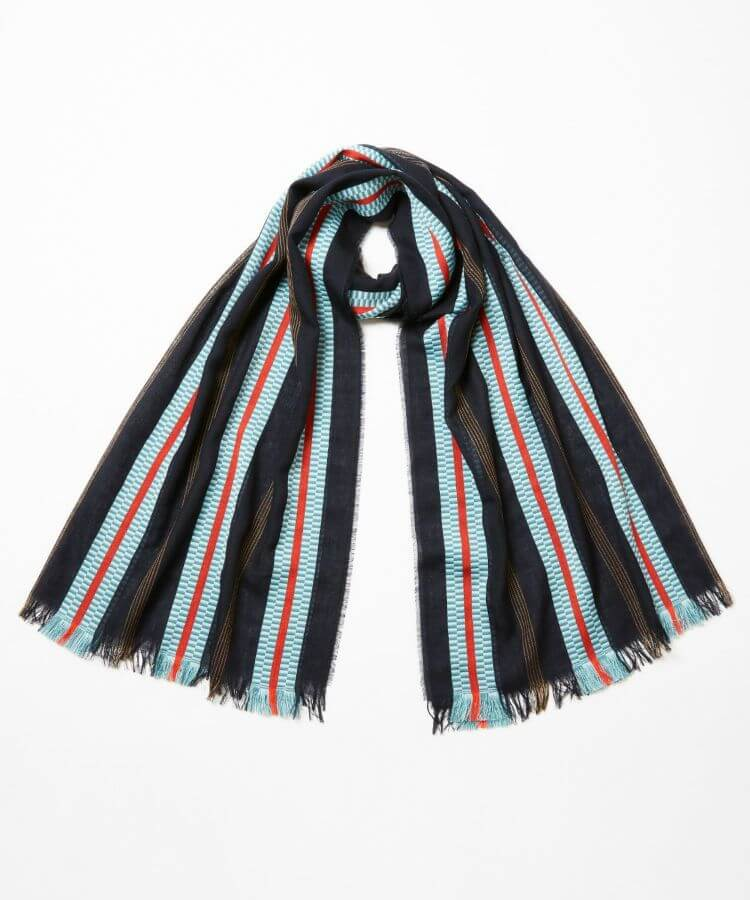 Pixelated Ribbon Scarf