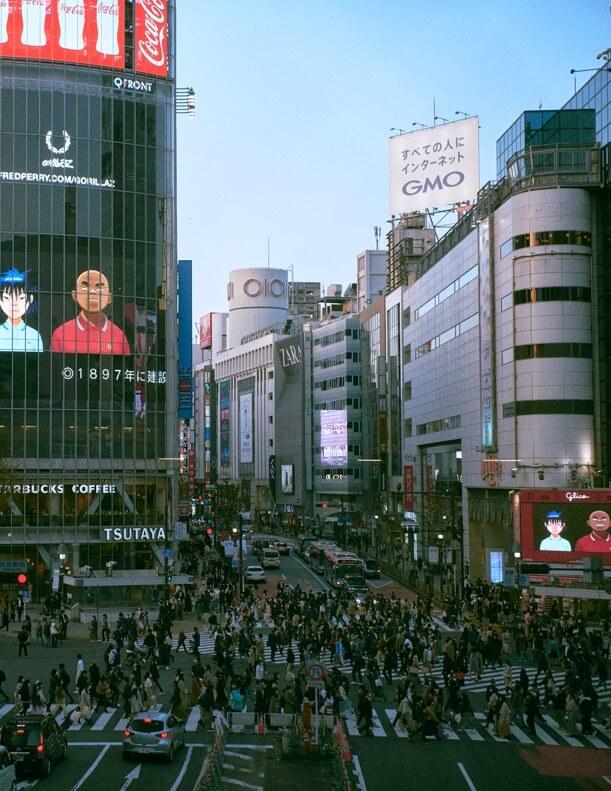 ゴリラズ 渋谷ヴィジョン