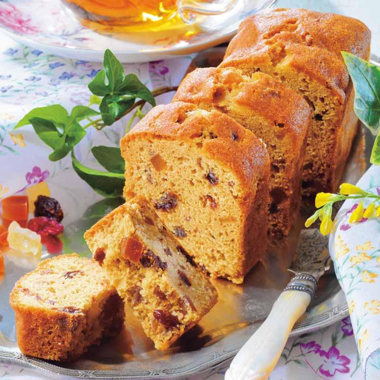 紅茶とフルーツのパウンドケーキ