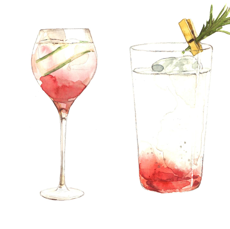 """""""R"""" Gin Fizz, Beauty & Healthy"""