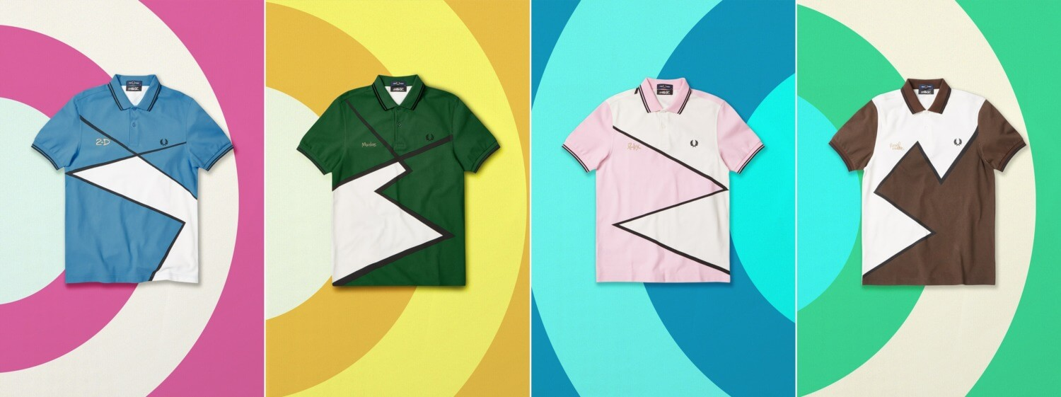 Fred Perry × Gorillaz