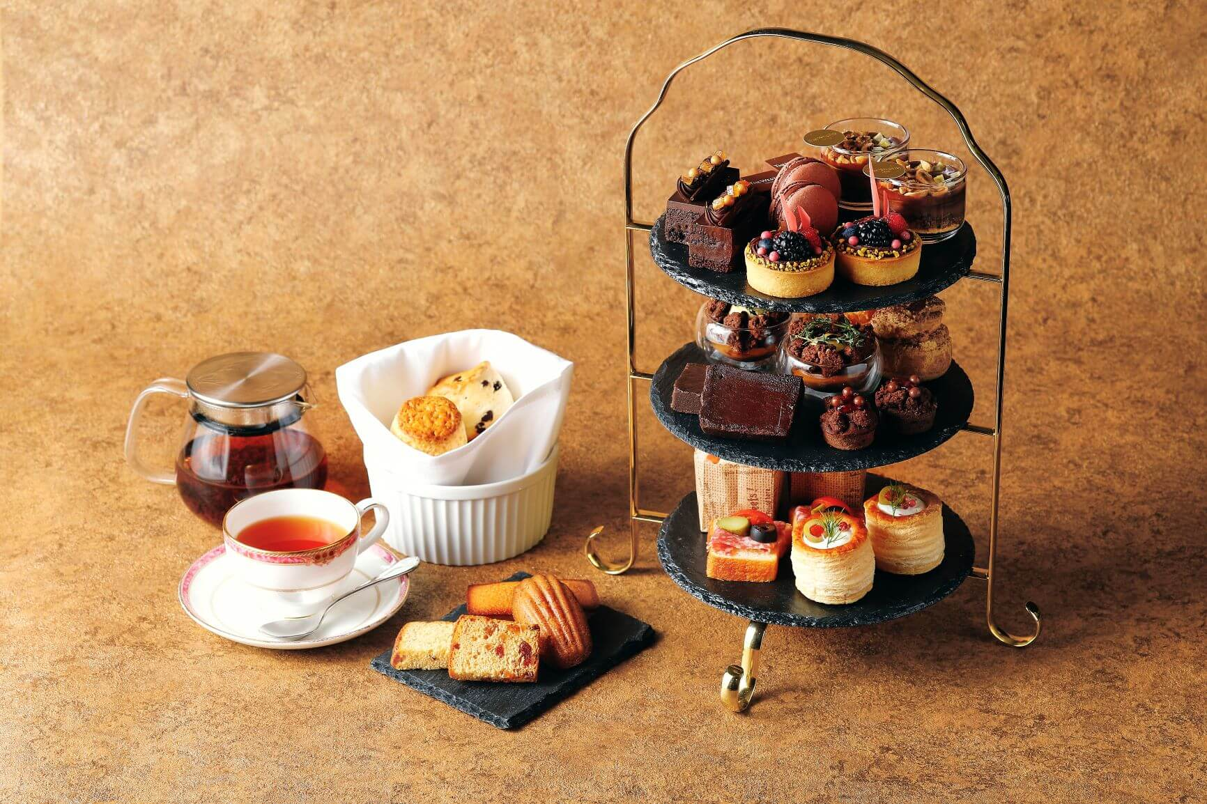 ウェスティンホテル東京「チョコレート アフタヌーンティー」