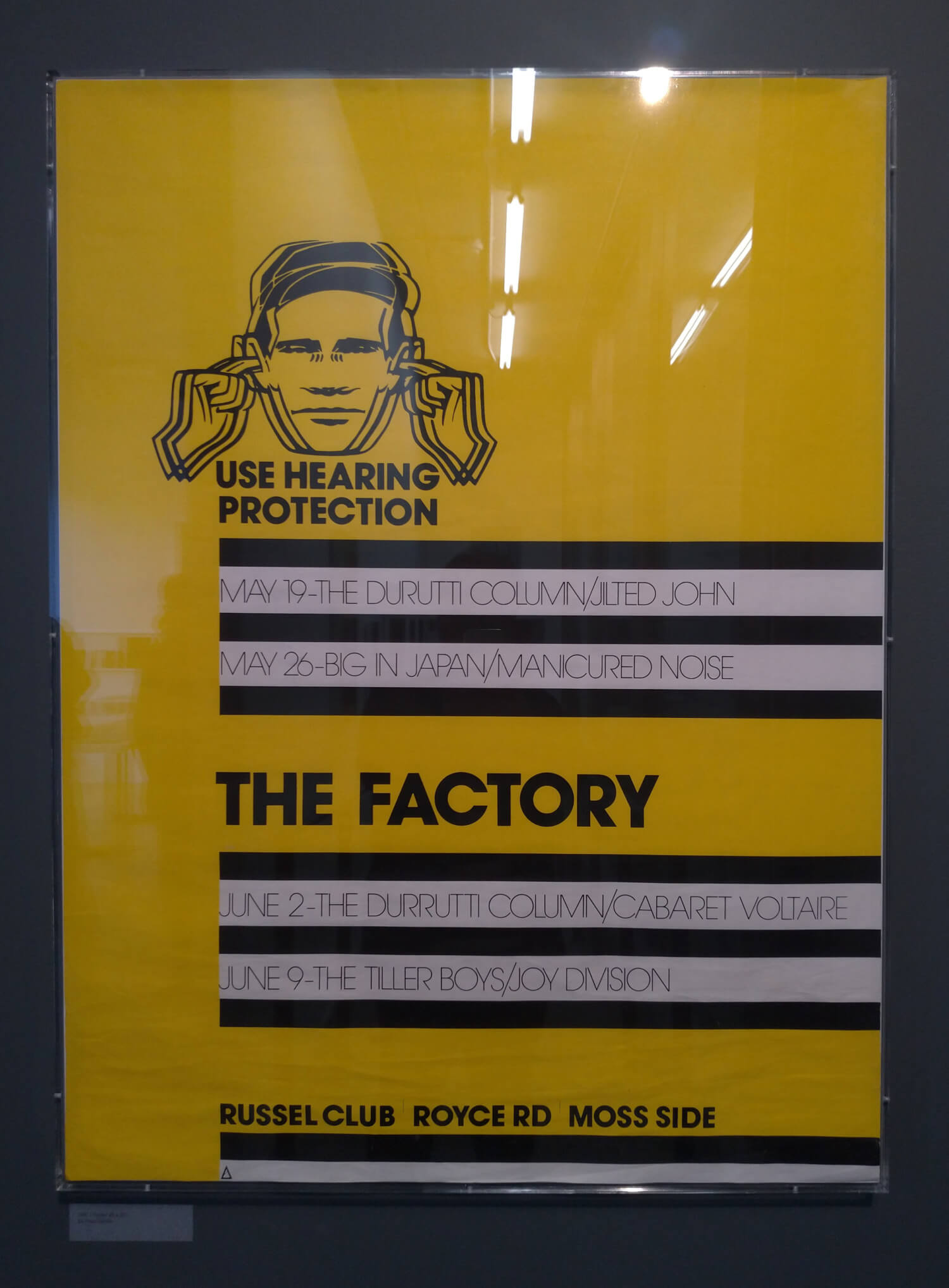 USE HEARING PROTECTION: THE EARLY YEARS OF FACTORY RECORDS