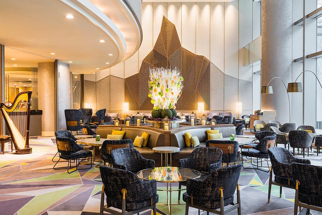 スイスホテル南海大阪「ザ・ラウンジ」