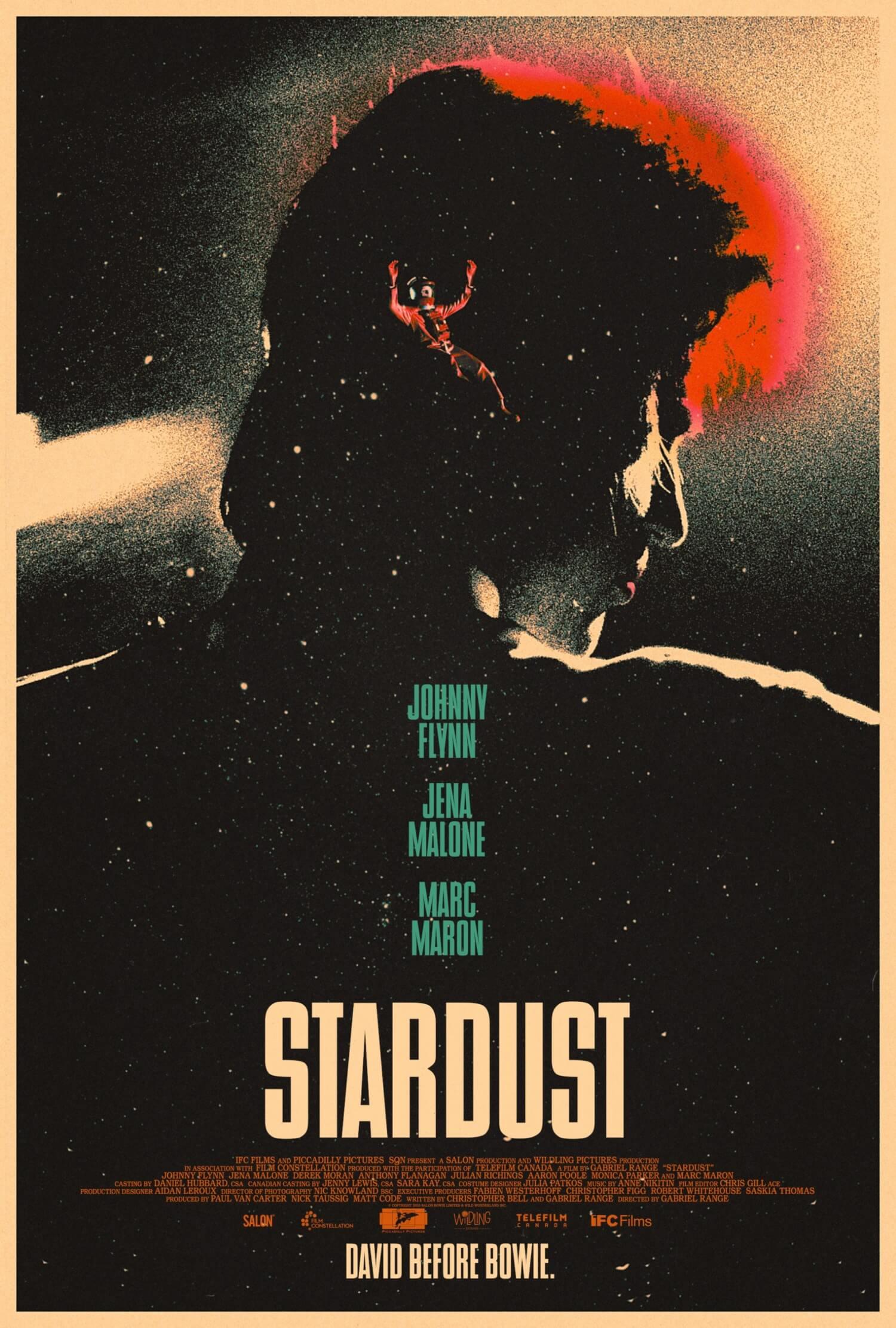 映画『スターダスト』海外版ポスター