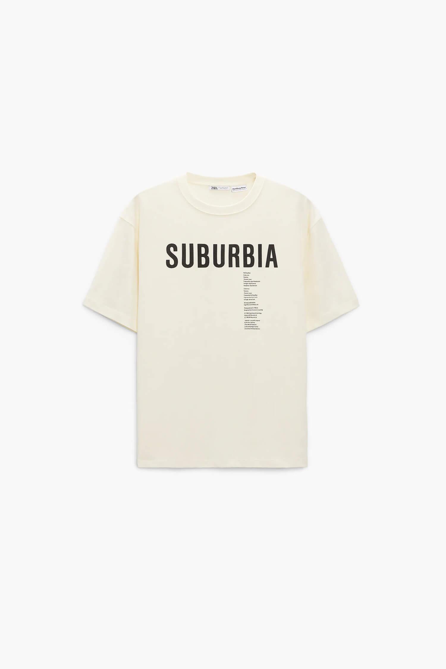 SUBURBIA © PET SHOP BOYS PARTNERSHIP プリントTシャツ