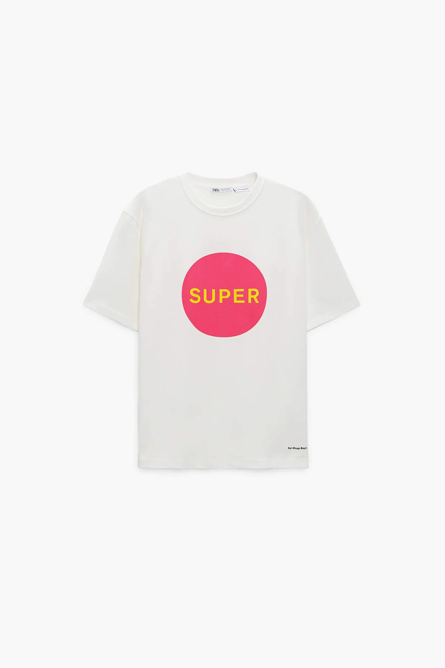 スーパー © PET SHOP BOYS PARTNERSHIP プリントTシャツ
