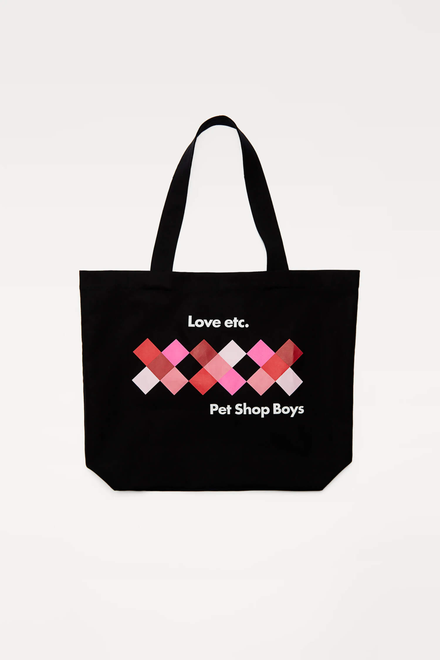 LOVE © PET SHOP BOYS PARTNERSHIP プリントトートバッグ