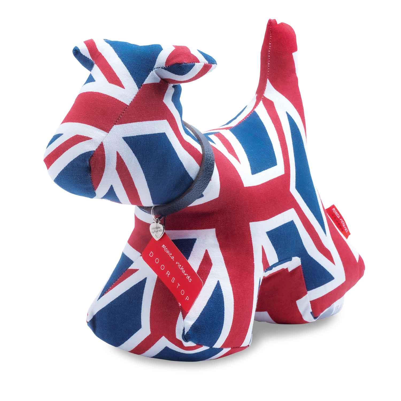 モニカ リチャード ロンドンのクラシックドッグドアストップ(綿100%・高さ約30㎝・約1.5㎏)10,780円