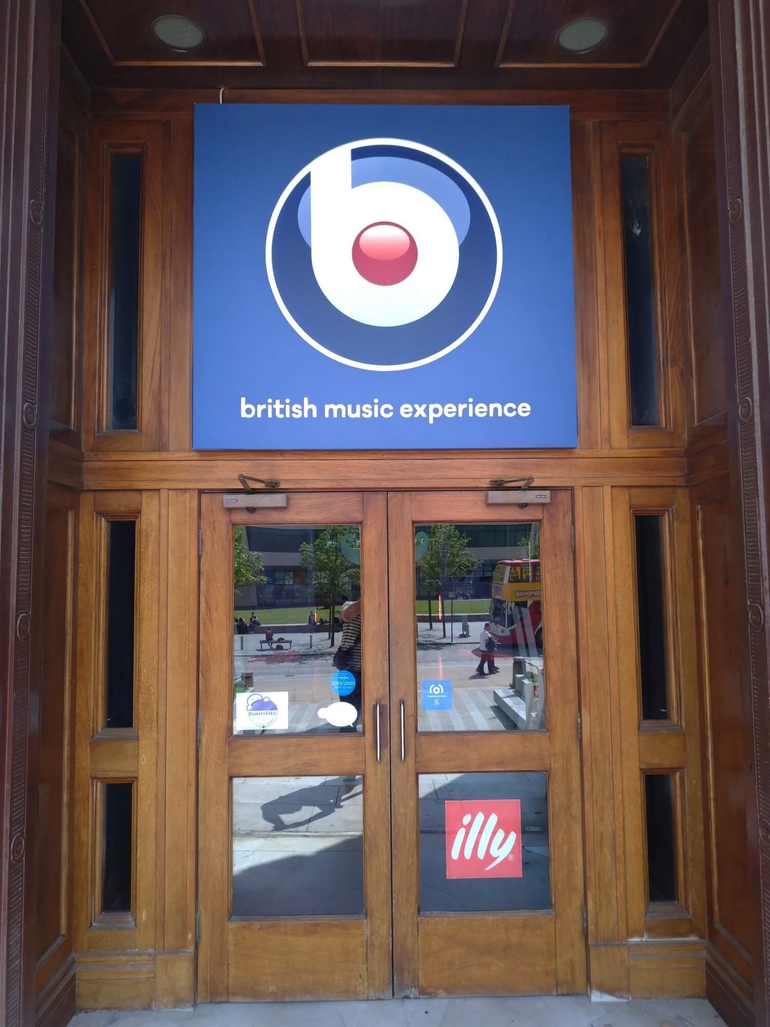 British Music Experience入り口