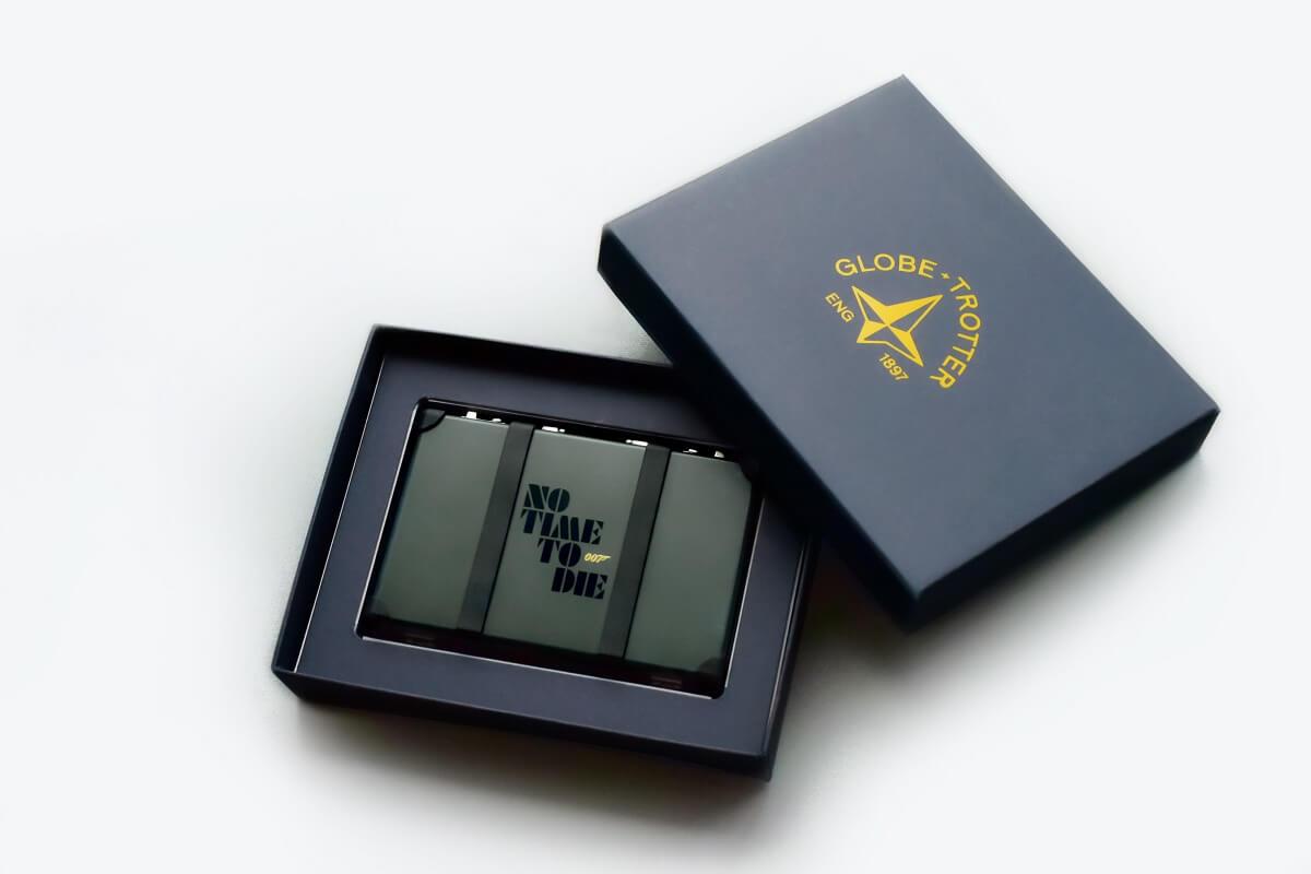 『007/ノー・タイム・トゥ・ダイ』ムビチケ前売り券(カード)7 種+グローブ・トロッター(Globe-Trotter)特製ムビチケケース豪華限定コラボセット