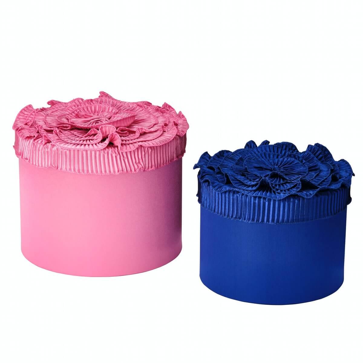 ボックス2個セット ブルー / ピンク(2,999円)