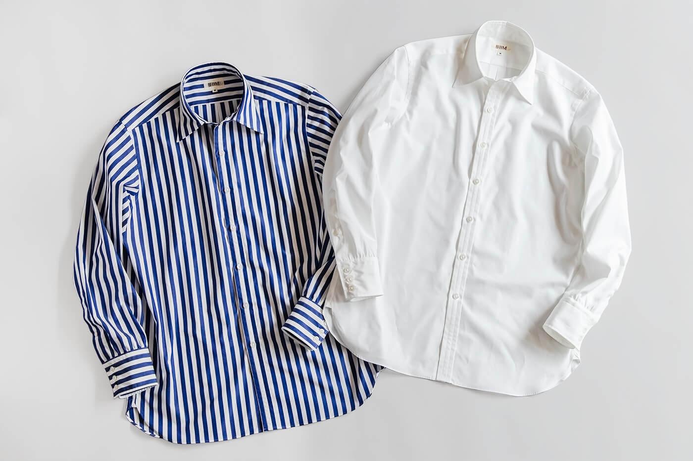 ブリティッシュメイド オリジナルシャツの第三弾 ドレスシャツ「ロンドン」