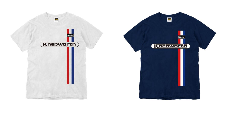 完全生産限定 復刻版 Oasis×KNEBWORTH Tシャツ