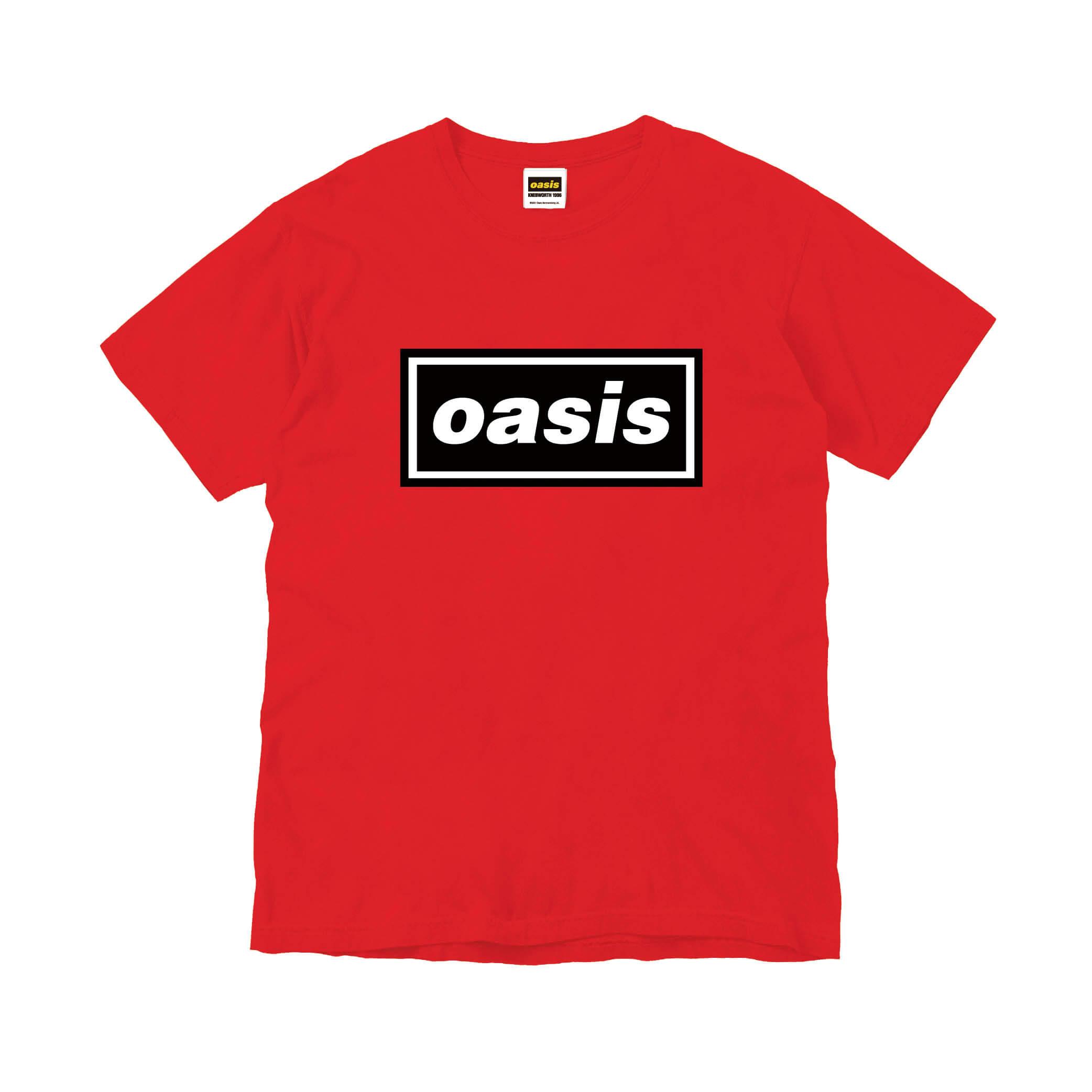 映画公開記念限定 Oasis ロゴTシャツ レッド