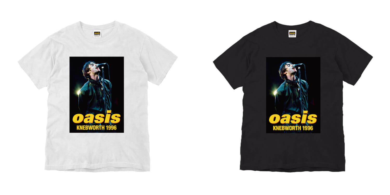映画公開記念限定「oasis KNEBWORTH1996」 リアムPHOTO Tシャツ