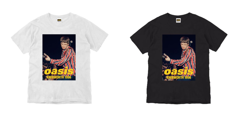 映画公開記念限定「oasis KNEBWORTH1996」 ノエルPHOTO Tシャツ