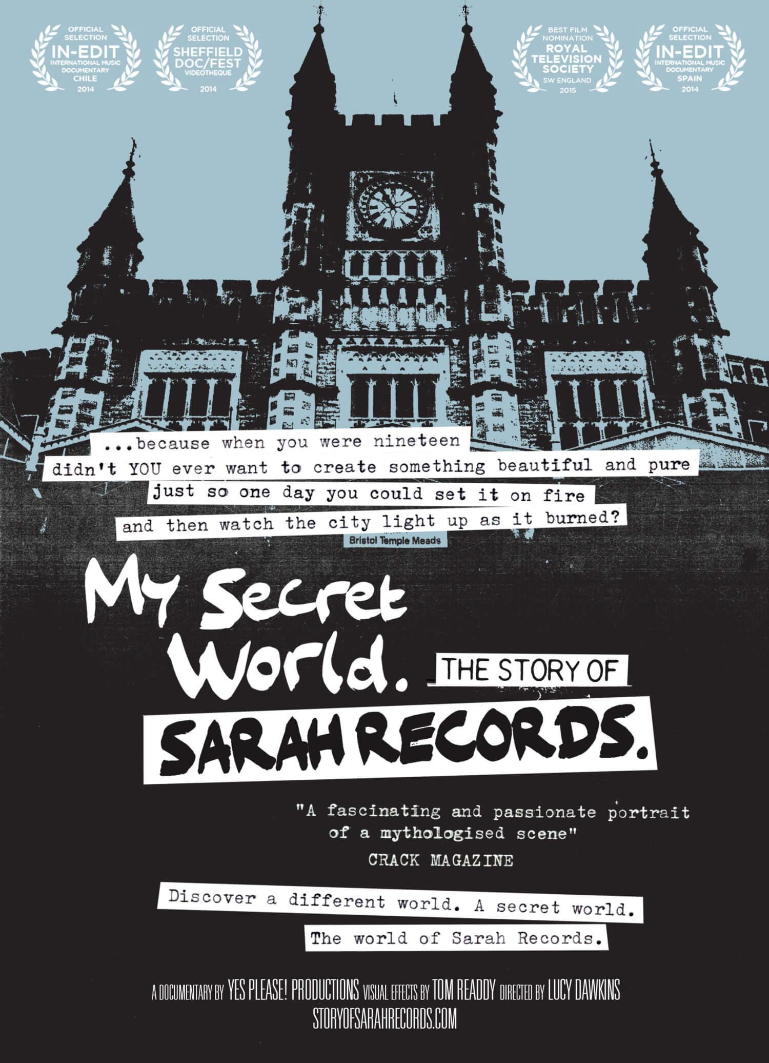 My Secret World: The Story of Sarah Recordsポスター