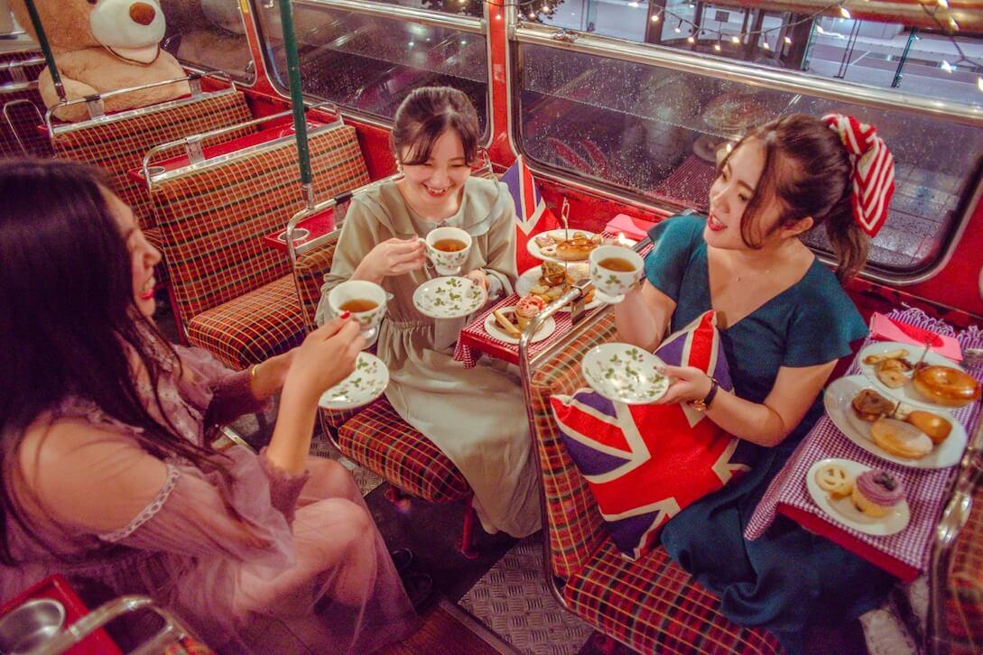 ロンドンバスでミニ英国展 イメージ画像
